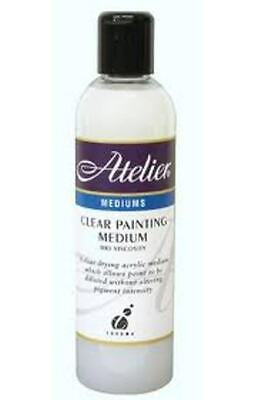 Atelier 250ml - Clear Painting Medium