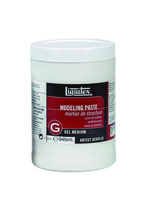 Liquitex 946ml - Modeling Paste Gel Medium