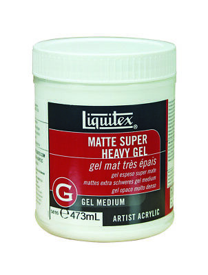 Liquitex 473ml - Matte Super Heavy Gel Medium