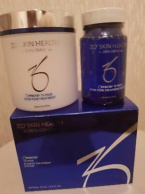 Zo Skin Health Offfects TE pads Blemish treatment system 75ml
