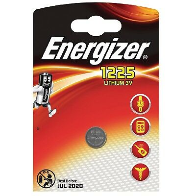 1x Battery Button Energizer BR1225 battery Lithium 3V