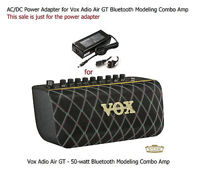 AC Power Supply Power Adapter for Vox Adio Air GT Guitar Bluetooth Combo Amp
