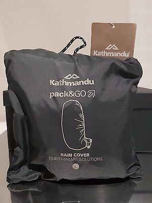 RAINCOVER FOR BACKPACK - KATHMANDU - NEW IN PACK With Tags