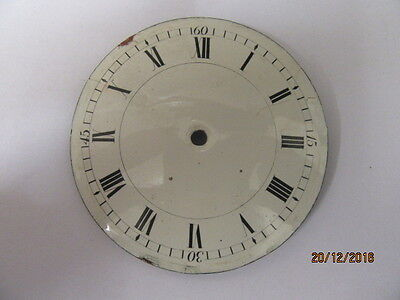 Antique Porcelain Clock Dial Ideal For Spares