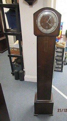 Longcase Clock In Working Order (But Would Benefit From A Service)