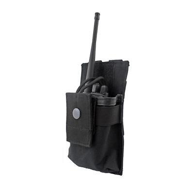 Adjustable MOLLE Radio Holder Walkie Talkie Holster Open Top M4 Mag Pouch