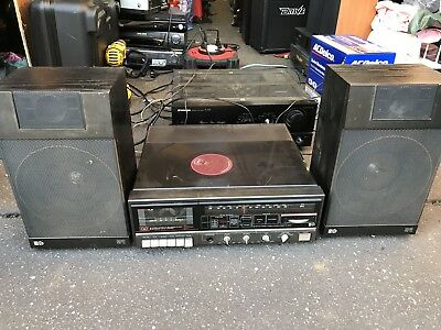 PYE Record Player with Speakers