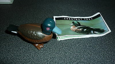 Colectable Australian Yowie Toy With Papers, Chestnut Teal