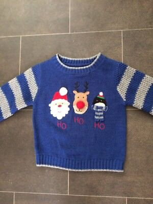 Mothercare Christmas Jumper 12-18 Months