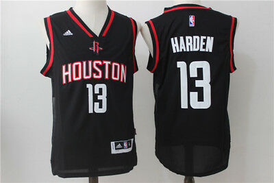 Nba James Harden Houston Rockets #0 Swingman Jersey Black