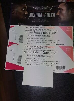 Anthony Joshua v Takam MID TIER 2 tickets