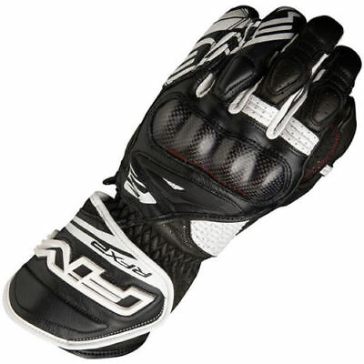 NEW FIVE GLOVES AIRFLOW RFX2 Motorcycle Motorbike Sports Gloves Black White SALE