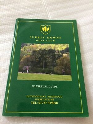 Surrey Downs Golf Club Yardage Guide Course Planner
