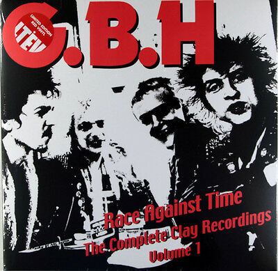 G.B.H.-Race Against Time:The Complete Clay Recordings Vol.1 (Ltd 2 x Red Vinyl)