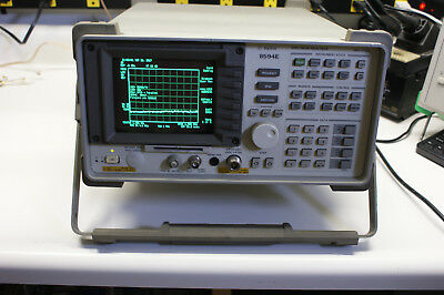 Agilent 8594E 9 kHz - 2.9 GHZ Spectrum Analyzer. Options: 041, 102, 130. Tested.