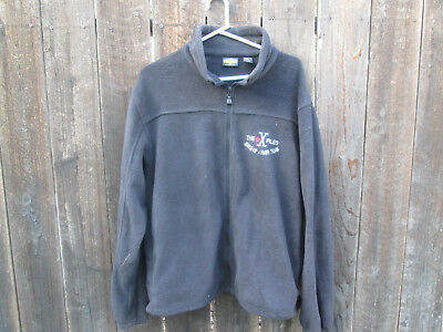 THE X-FILES Vintage TV Film Crew Jacket  MAKE-UP & HAIR TEAM Embroidery