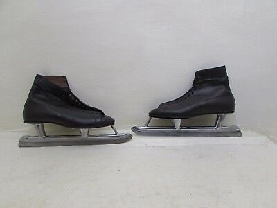 Vintage John Wilson Sheffield Outdoor Speed Ice Skates Size 11 1/3