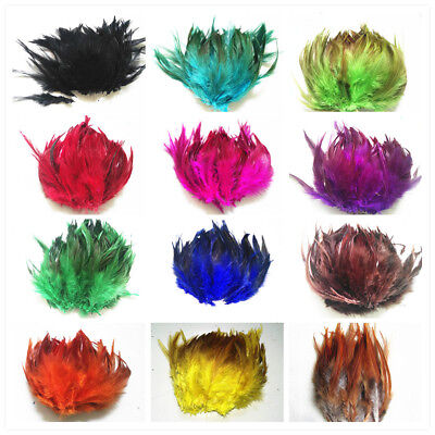Wholesale!30/100pcs Beautiful Rooster Tail Feathers,10-15cm/4-6 inches, Feathers