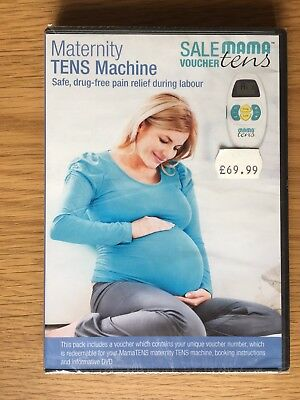 RRP £69.99. Maternity Mama TENS Machine Sale Voucher & DVD. To Keep Not Rent