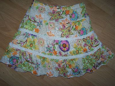Toddler Size 4T The Children's Place Skirt attached Bloomer Floral Print EUC