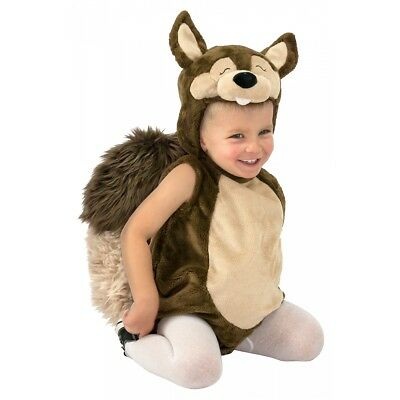Nutty the Squirrel Costume Halloween Fancy Dress