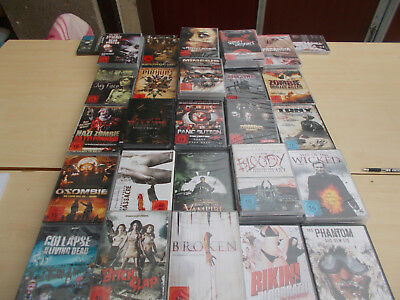 25 DVDs   Neu in Folie!