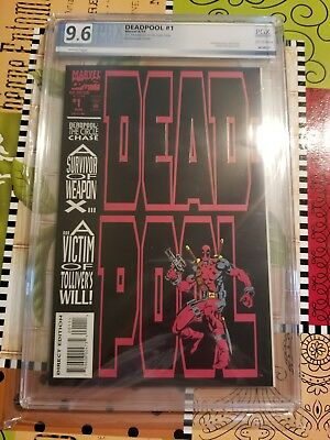 Deadpool: The Circle Chase #1 Marvel Comics KEY  Rare High Grade Copy