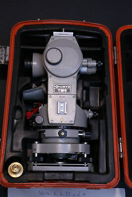 Sokkisha Lietz Tm6 Transit Theodolite With Case