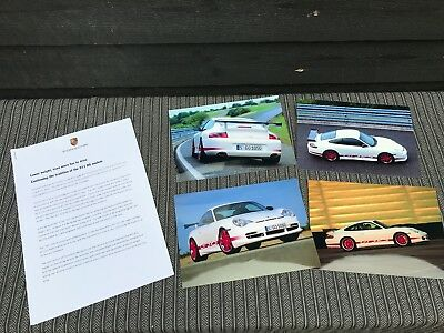 Porsche 911 996 GT 3 RS GT3RS 2004 press kit factory photos, rare & original