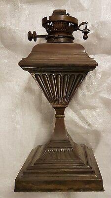 Antique Maple of London Hinks patent oil lamp