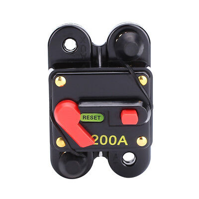 Car Auto AMP Audio Inline Circuit Breaker Fuse Holder For Protection SKCB-01