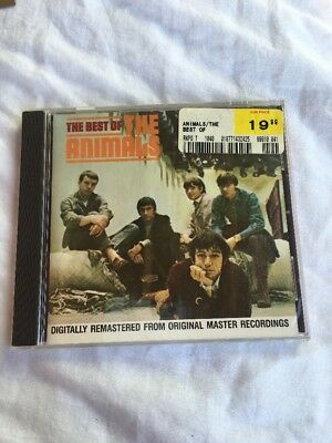 Best of The Animals Audio CD British Blues Rockers House Of The Rising Sun New