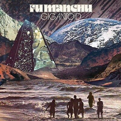 Fu Manchu Gigantoid LP on Silver vinyl