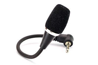 Mini 3.5mm Flexible Microphone for PC/Laptop/Skype. 0223