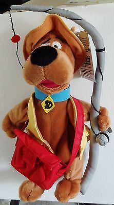 Warner Brothers 2000 Scooby-Doo Fisherman bean bag plush figure-New-w/tags