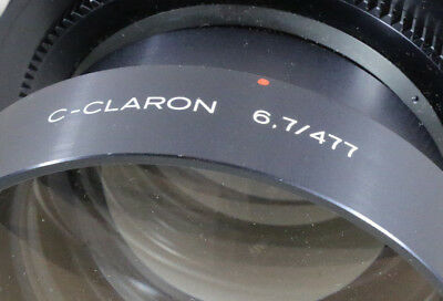 Schneider-Kreuznach  C-CLARON Red Dot 477mm f/6.7 Excellent Glass SN 14 479 603