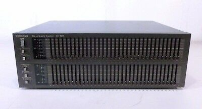 Technics 33-Band Stereo Graphic Equalizer SH-8065