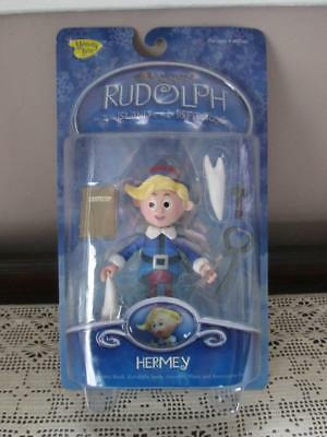 Brand New 2002 Hermey The Elf Figure ~ Rudolph Red Nose Reindeer ~ Memory Lane