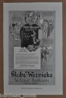 1916 Globe-Wernicke Bookcases advertisement, Barristers Bookcase