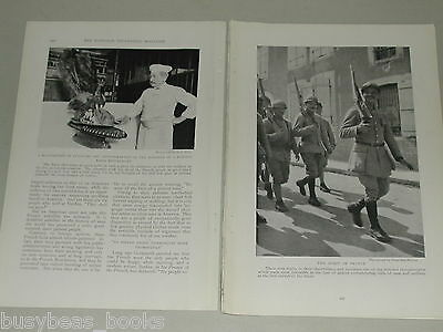 1918 magazine article about the FRENCH, people, history, WWI ally
