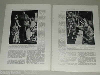 1937 magazine article on the Telephone, invention, usage, Bell