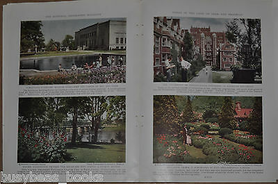 1935 magazine articles about PENNSYLVANIA, USA state of PA, color photos