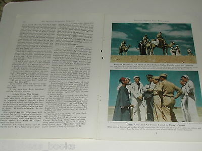 1946 magazine article, V-J day in Jerusalem and area, US Soldiers