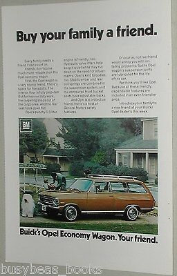 1971 Buick ad, Buick Opel station wagon