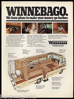 1980 WINNEBAGO advertisement, Winnebago Chieftain motor-home cutaway drawing