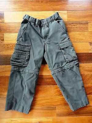 BOY SCOUTS OF AMERICA Uniform CARGO Convertible PANTS Zip Off Legs YOUTH 10