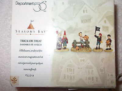 Seasons Bay Dept 56 Trick or Treat #53319