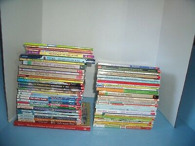 Lot Of 58 Children's Chapter Books*puppy Place*nate The Great*cam Jansen....