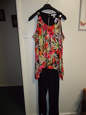 Brand New 22W Plus Size Tunic Top & Pants All In One Polyester Spandex