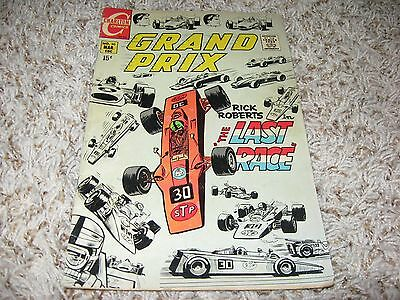 "Grand Prix #30 (Charlton, 1970) – Rick Roberts in ""The Last Race"" – FN"